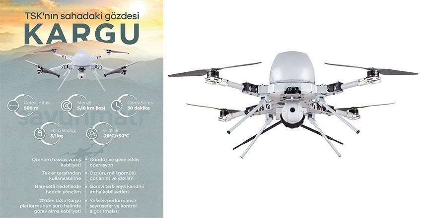 STM TEKNOLOJİSİ KAMİKAZE DRONU 'KARGU'