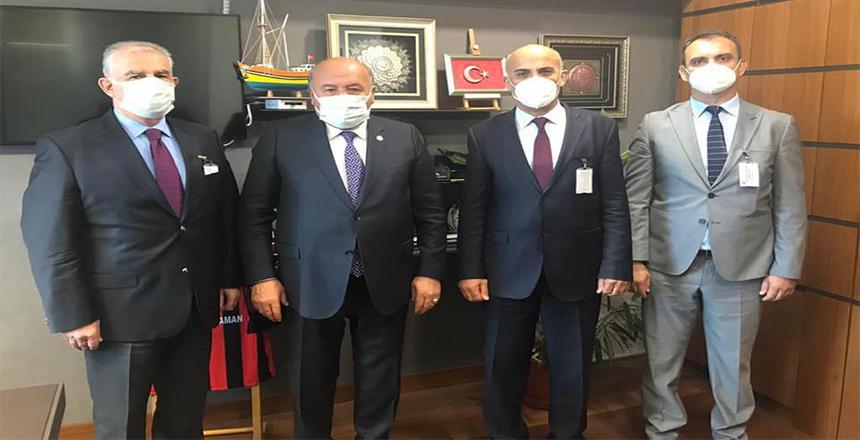 DOĞUSAN A.Ş'DEN MİLLETVEKİLİ KARAMAN'A ZİYARET