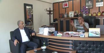 AYHAN DOĞAN ERT ŞAH TV'Yİ ZİYARET ETTİ