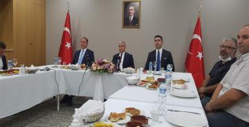 CHP'Lİ BAŞKANLAR ERZİNCAN'DA