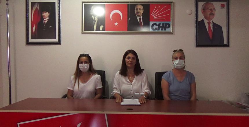 """CHP KADIN KOLLARI; """"KADIN CİNAYETLERİ POLİTİKTİR"""""""