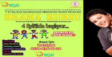 'ERZİNCAN'DA ÇOCUK OLMAK' BAŞLIYOR
