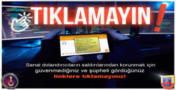 SANAL DOLANDIRICILARA DİKKAT
