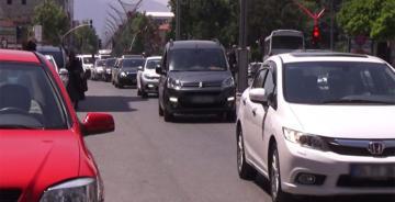 ERZİNCAN'DA MOTORLU KARA TAŞITLARI 62.717 OLDU