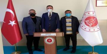 ERT ŞAH MEDYA'DAN BAŞSAVCI DR.ÖZTÜRK'E ZİYARET