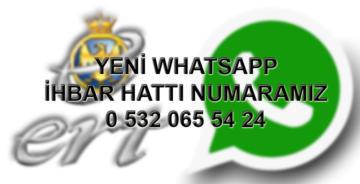 """ERT ŞAH MEDYA WHATSAPP İLETİŞİM HATTI """"0532 065 54 24"""""""