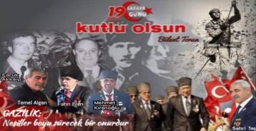 """""""GAZİLERİMİZ VATANSERVERLİĞİN VE KAHRAMANLIĞIN ABİDELERİDİR"""""""