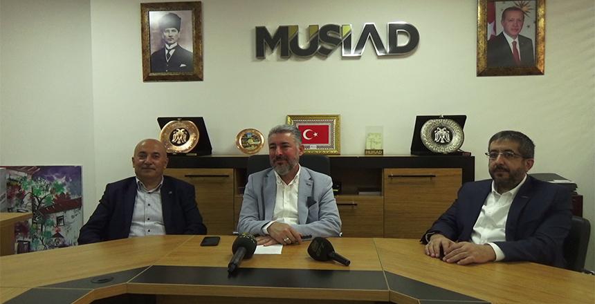 MÜSİAD GAZİANTEP'E İŞ GEZİSİ DÜZENLEYECEK
