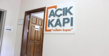 AÇIK KAPI 'MİLLETİN KAPISI'
